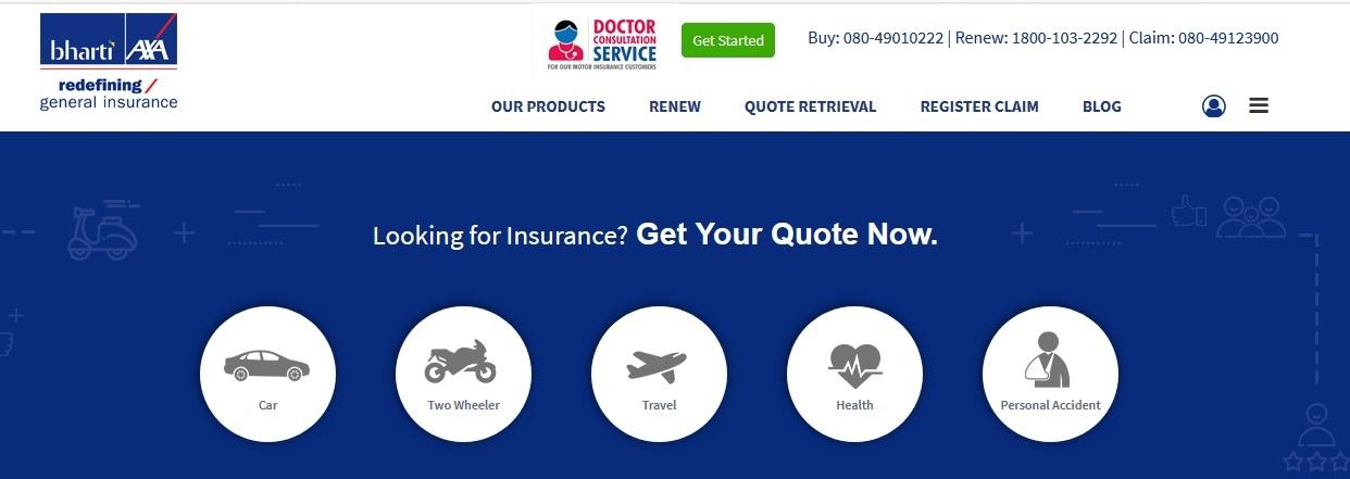 Bharti Axa Motor Insurance Toll Free Number Impremedia Net