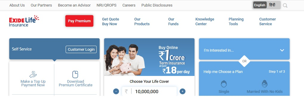 Exide Life Insurance Bangalore Customer Toll Free Number ...