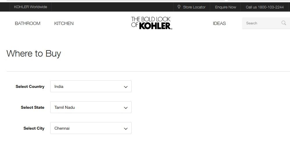 Kohler India Corporation Bangalore : kohler co in – www