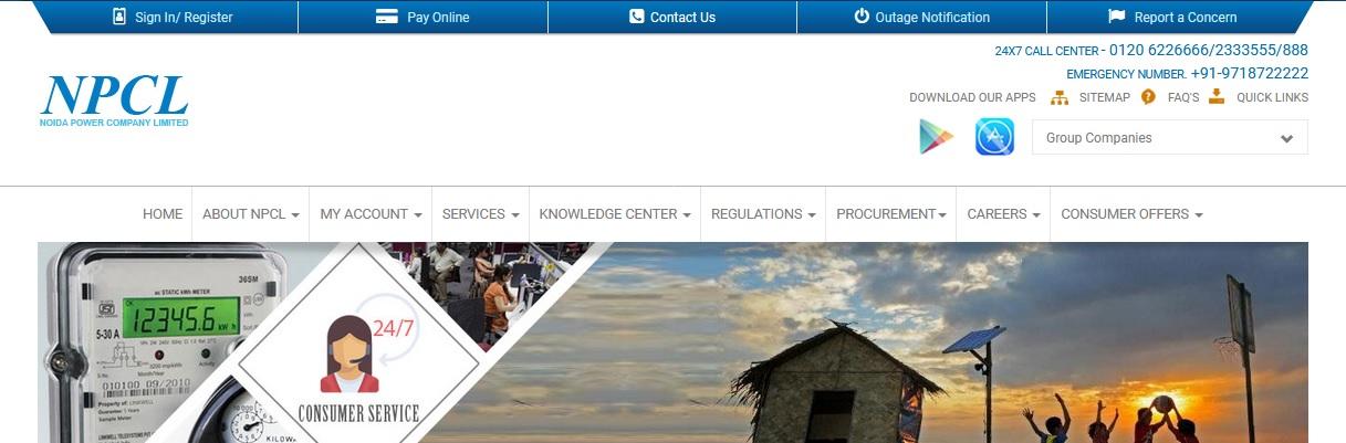 NPCL Customer Care Help Desk Number Noida Power Company