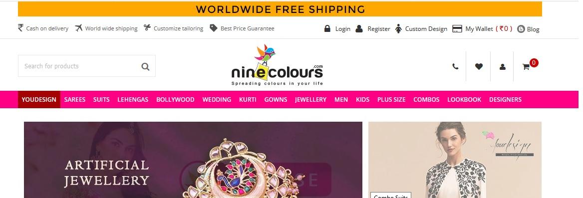 Nine Colours Mumbai Customer Support Number : ninecolours com – www